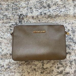 Michael Kors Jet Set Large Saffiano Leather Bag
